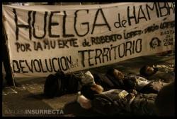 Huelga de hambre qom