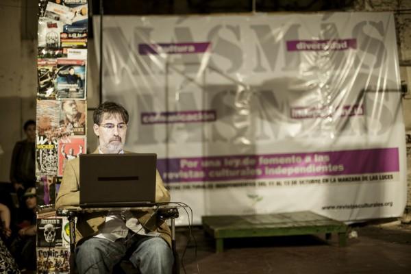El diputado Jorge Rivas, impulsor del Proyecto de Ley