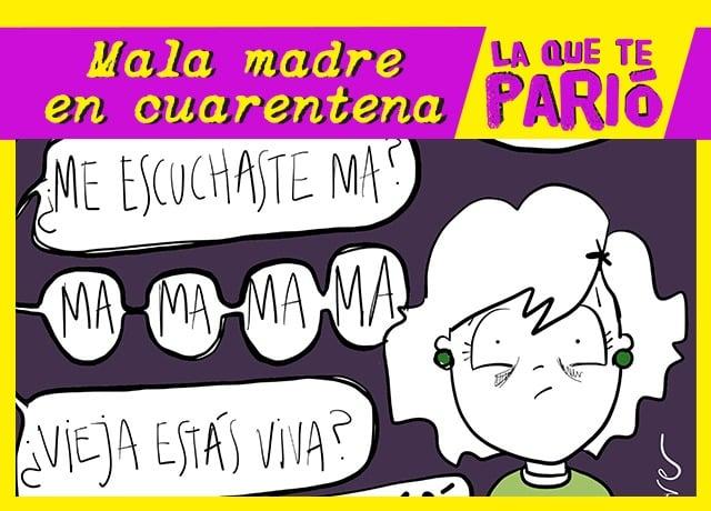 Maternidad en cuarentena: ¿Qué es ser una mala madre?