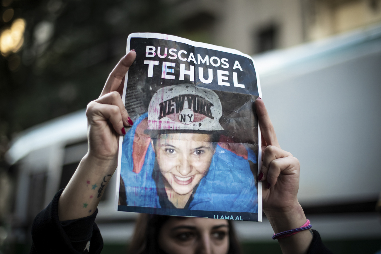 Más de 40 días sin Tehuel: búsqueda, recompensa y movilizaciones – lavaca