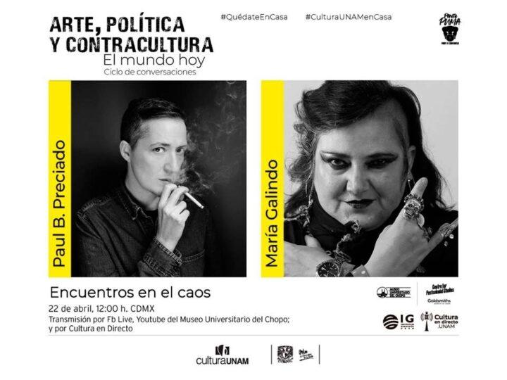 Arte, política y contracultura: encuentro en el caos, con María Galindo y Paul Preciado